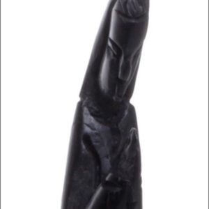 Other - Wood Carved Black Statue